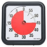 Time Timer 12 inch, 60 minute visual analog timer, desktop or wall mountable, optional alert.