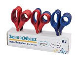 Schoolworks 5 Inch Blunt Kids Scissors, Classpack of 12 (153520-1004)