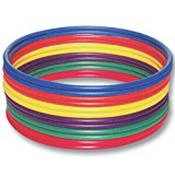 US Games Standard Hoops, 36-Inch (Pack of 12)