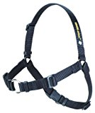 SENSE-ation No-Pull Dog Harness (Black, Medium)