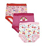 Peppa Pig Toddler Girls' 3pk Training Pant, Assorted, 3T