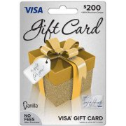 Visa $200 Gift Card