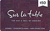 Sur La Table Gift Card $50