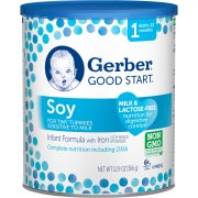 Gerber Good Start Soy Non-GMO Powder Infant Formula, Stage 1, 12.9 oz