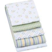 Garanimals Receiving Blanket, Gray, 4 pk