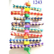 Bonka BIrd Toys 1243 Foamy Delight Bird Toy.
