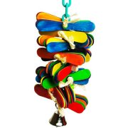 Bonka Bird Toys 2005 Spoon Spin Bird Toy.