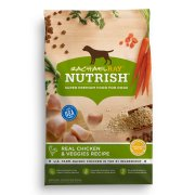 Rachael Ray Nutrish Natural Dry Dog Food, Real Chicken & Veggies Recipe, 6 lbs
