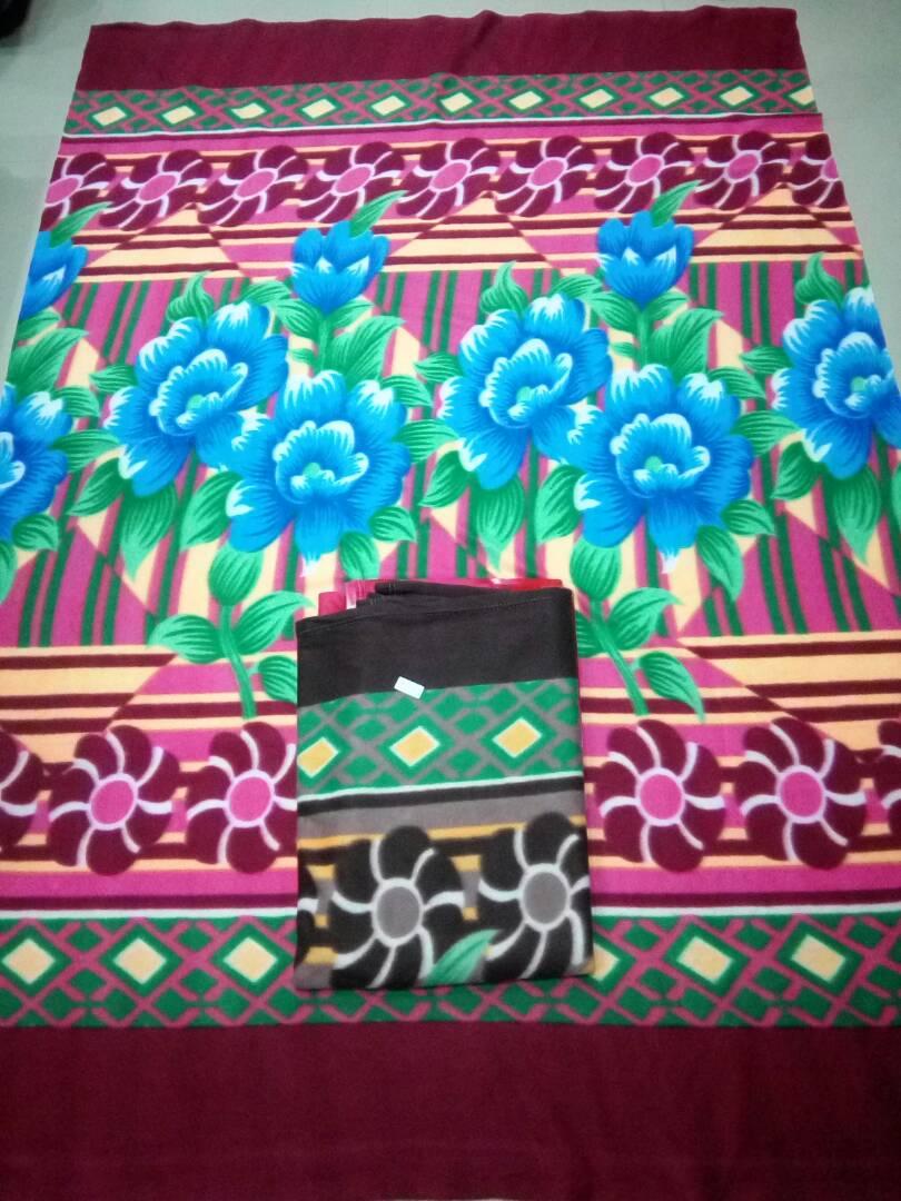 Multicolored Fleece Blanket 800g