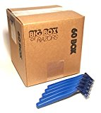 60 Box of Quality Bulk Disposable Twin Blade Razors for Men and Women