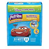 Pull-Ups Learning Designs Potty Training Pants for Boys, 3T-4T (32-40 lb.), 22 Ct. (Packaging May Vary)