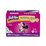 Pull-Ups Learning Designs Training Pants for Girls, 2T-3T (18-34 lbs.), 74 Count, Toddler Potty Training Underwear, Packaging May Vary