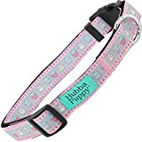 Dog Collars Durable Nylon Trendy Patterns for All Sizes by Hubba Puppy (Pastel Cupcakes, X-Small)