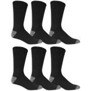 Athletic Works Men's Crew Socks 6-Pack