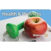 Health & Wellness Walmart Gift Card