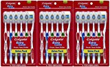Colgate Extra Clean Full Head, Medium Toothbrush, 6 Count (Pack of 3)