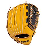 "Franklin Sports Field Master Series Baseball Gloves, 12"", Right Hand Throw"