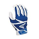 Easton Z3 Hyperskin Batting Gloves, White/Royal, X-Large