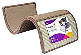 SmartyKat Scratch Scroll Cat Scratcher Carpet and Sisal Cat Furniture