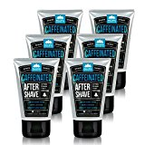 Pacific Shaving Co. - (6x) BUNDLE: Caffeinated Aftershave, Best Aftershave Moisturizer Balm - Helps Reduce Appearance of Razor-Burn, Safe Ingredients, Naturally-Derived Caffeine, Travel/TSA Compliant