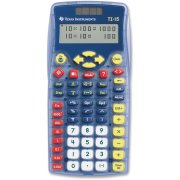 Texas Instruments TI-15 Explorer Elementary Calculator, Blue, 1 Each (Quantity)