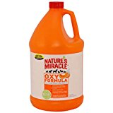 Nature's Miracle Stain & Odor Remover, Orange Oxy, Gallon (5162)