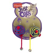 Hartz Just For Cats Cat Toy Bell Mouse - 2 CT