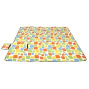 """(79""""x79"""")Extra-Large Outdoor Water Resistant Picnic Blanket Pads Rug Camp Beach Pad"""