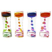 Liquid Motion Bubbler Desk Top Toy for Sensory Play, Children Fidget Toy (1 Bubbler) by Super Z Outlet
