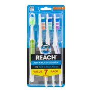 Reach Advanced Design Toothbrush Value Pack - 7 CT7.0 CT