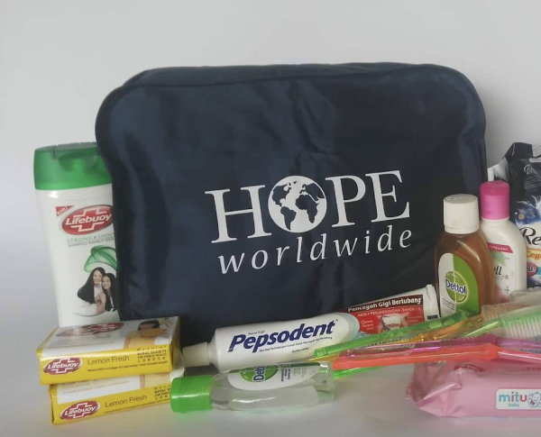 Hygiene Kit (for kids): Baby shampoo, Toothbrush Kids toothpaste etc