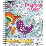 Dreaming In Color Coloring Book by Lisa Kaus (1020102), 100 coloring designs for fun, artistic Expression and stress-relief from beginner to.., By Lang