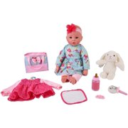 "My Sweet Love 18"" Doll with Diaper Bag & Accessories, Designed for Ages 2 and Up"
