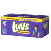 Luvs Ultra Leakguards Diapers Size 4 88count