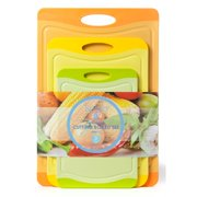 Spigo Spigo Antimicrobial 3 Piece Cutting Board Set