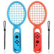 Tennis Racket for Nintendo Switch Joy-Con Controller Twin Pack Grips for N-Switch Game Mario Tennis Aces Left & Right One Pair