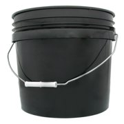 3 gal. Black Bucket