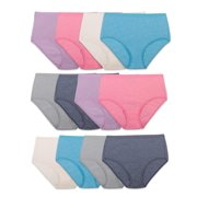 Women's Assorted Beyondsoft Brief Panties, 12 Pack