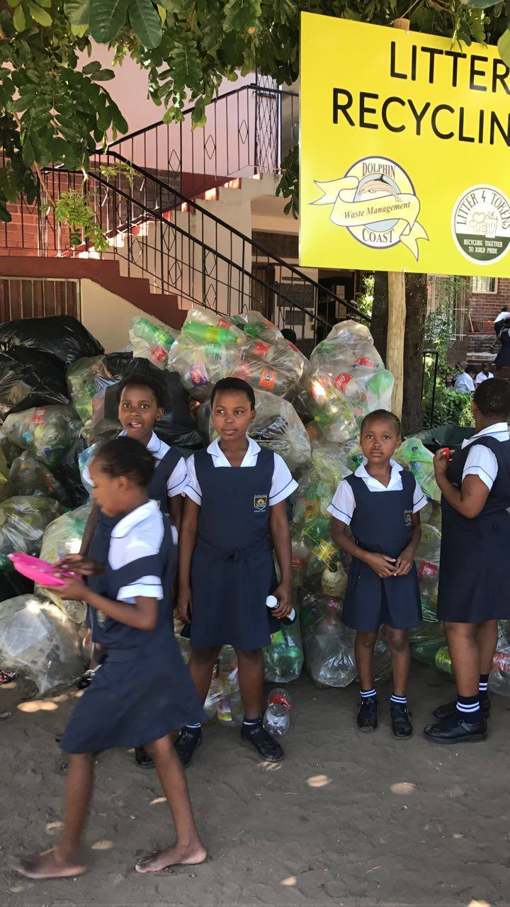 Fund Litter4Tokens private recycling program in a school in South Africa