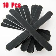 Luxur 10-pack Pro Nail Art Care Sanding Buffer Manicure Gel Nail File 100/180 Grit