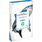 Hammermill, HAM86704, Great White Recycled Copy Paper, 500 / Ream, White