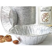 "5"" Individual-Size Foil Tart or Pie Pan - Pack of 24"