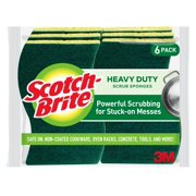 Scotch-Brite Heavy Duty Scrub Sponge, 6 Count