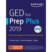 GED Test Prep Plus 2019 : 2 Practice Tests + Proven Strategies + Online