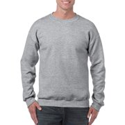 Gildan Men's and Big Men's Heavy Blend Preshrunk Crewneck Sweatshirt, up to Size 2XL