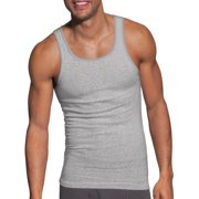 Hanes Men's Tagless ComfortSoft Dyed Tank Undershirt 6 Pack
