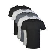 Men's Short Sleeve Crew Assorted Color T-Shirt, 5-Pack