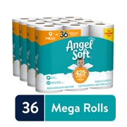 Angel Soft Toilet Paper, 36 Mega Rolls (= 144 Regular Rolls)