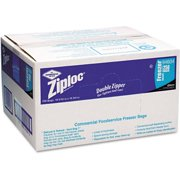 Ziploc Double Zipper Freezer Bags, Gallon, 250 Ct