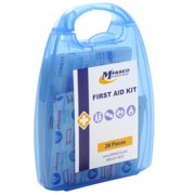 Personal First Aid Kit Plastic Case 28 Piece by MFASCO